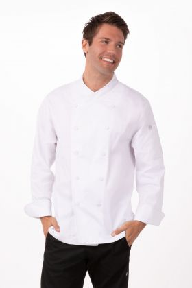 Chef Works Customized Mens Bordeaux Chef Coat