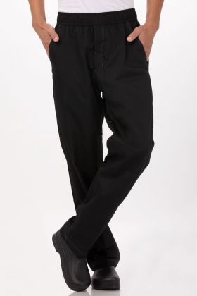 Chef Works Mens Lightweight Baggy Chef Pants BBLW-P