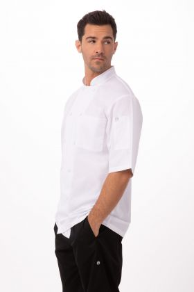 White Large Maarten Chef Coat Chef Works Mens St