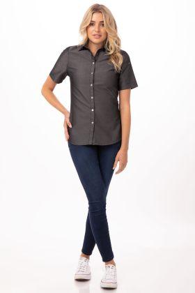 Details about  /Chef Works Men/'s Detroit Long Sleeve Denim Shirt Choose SZ//color