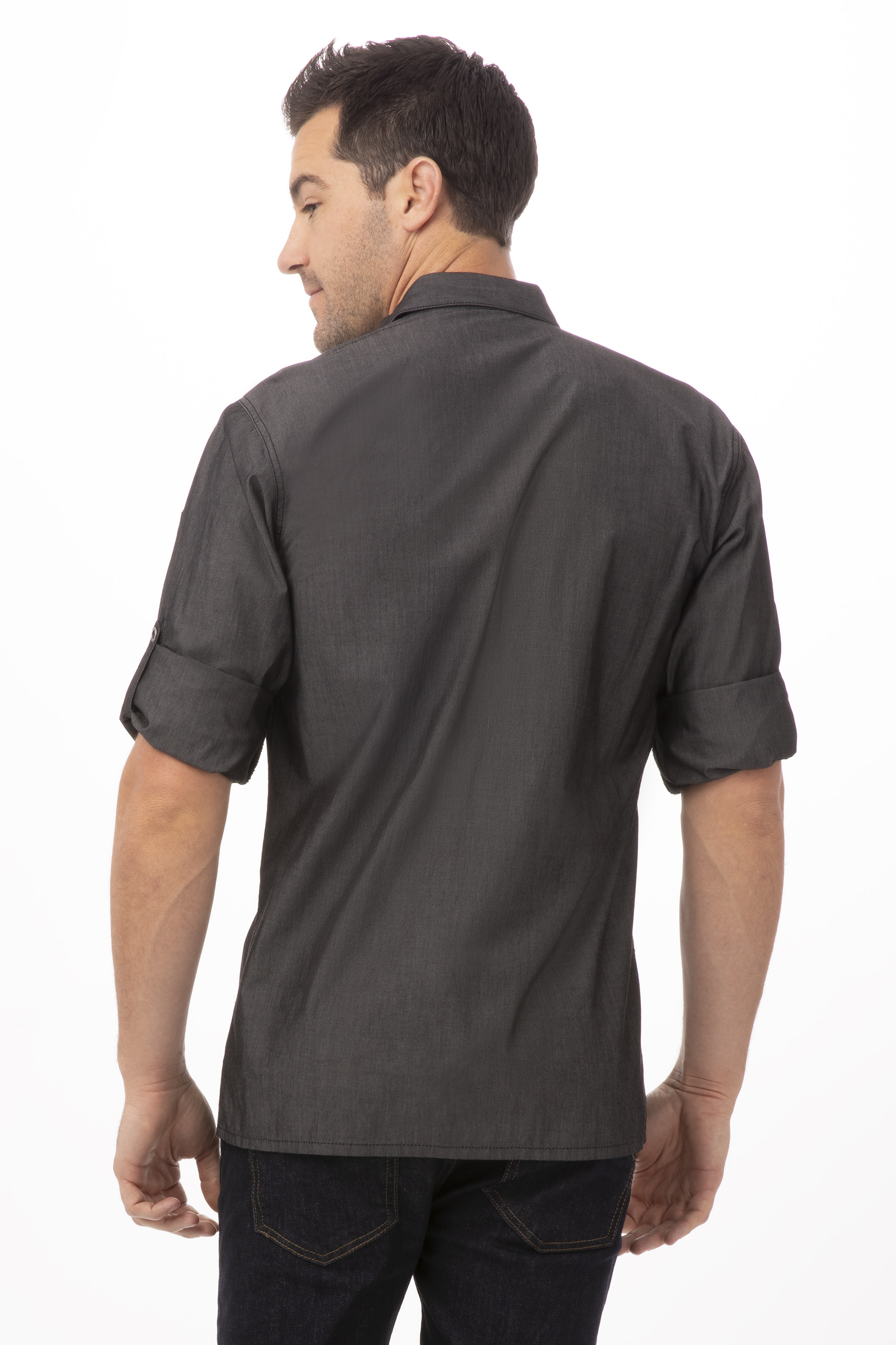 Detroit Long Sleeve Denim Shirt