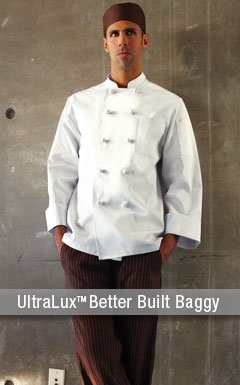 UltraLux Better Built Baggy Chef Pants