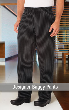 Designer Baggy Chef Pants