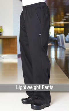 Lightweight Mens Chef Pants