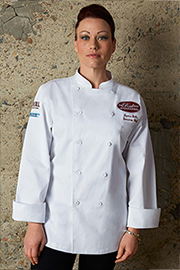 St. Tropez Womens Executive Chef Coat