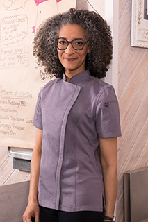 Womens Springfield Chef Coat - side view