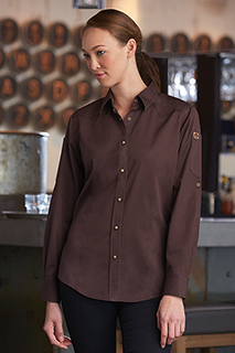 Womens Fremont Denim Shirt - side view