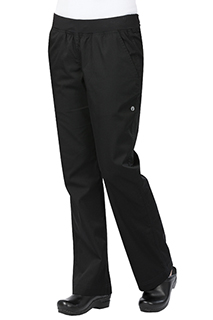 Womens Lightweight Slim Pants - side view