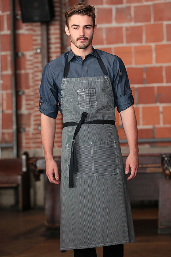 Portland Chefs Bib Apron Chef Works