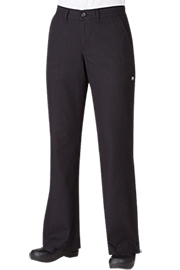 Chef Pants and Chefs Trousers PW003BLK