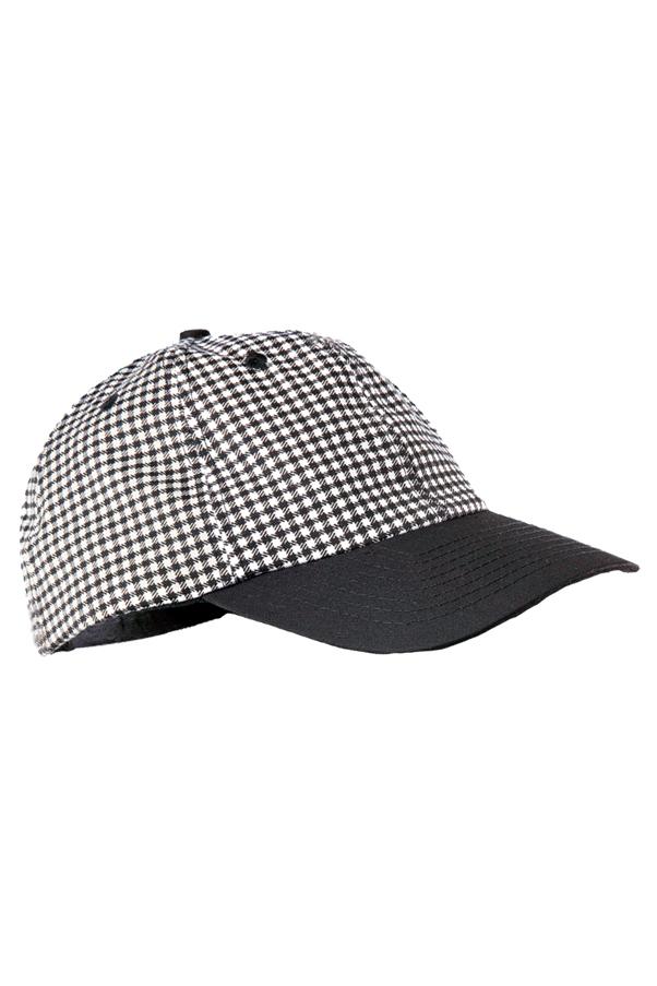 small check baseball cap bbch