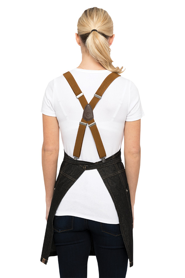 Berkeley Apron Suspenders Solid Color Chefworks Com