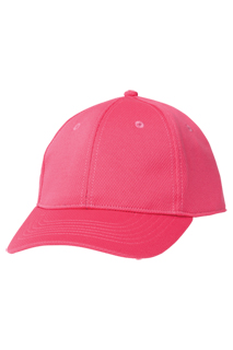 Cool Vent Color Baseball Cap: Berry - side view