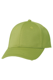 Cool Vent Color Baseball Cap: Lime
