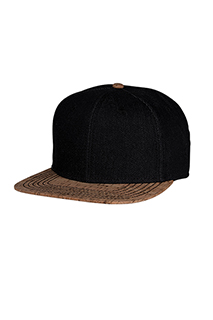 Cork Bill Skater Hat - side view