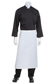 Bar White Chef Aprons - Chef Works Chef Aprons Collection