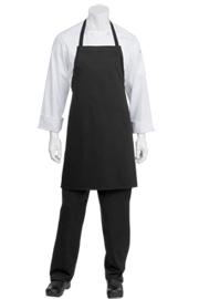 Bib Black Chef Aprons - Chef Works Chef Aprons Collection