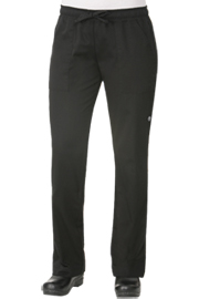 Black Womens Chef Pants - Chef Works Womens Chef Pants Collection