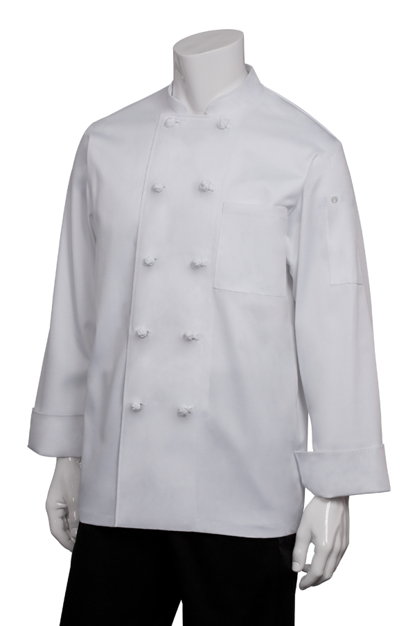 4e9bee89866 Bordeaux Chef Coat - back view