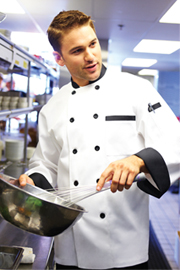 Dijon Chef Coat - Chef Works Chef Coat & Chef Jacket Collection
