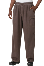 Enzyme Utility Chocolate Brown Chef Pants - Chef Works Chef Pants Collection
