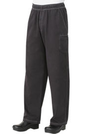 Enzyme Utility Gray Chef Pants - Chef Works Chef Pants Collection