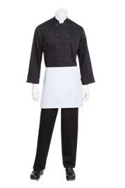 Four Way White Chef Aprons - Chef Works Chef Aprons Collection