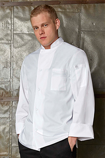 Lyss V-series Chef Coat - side view
