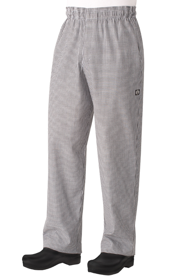 Essential Baggy Zip Fly Small Check Chef Works