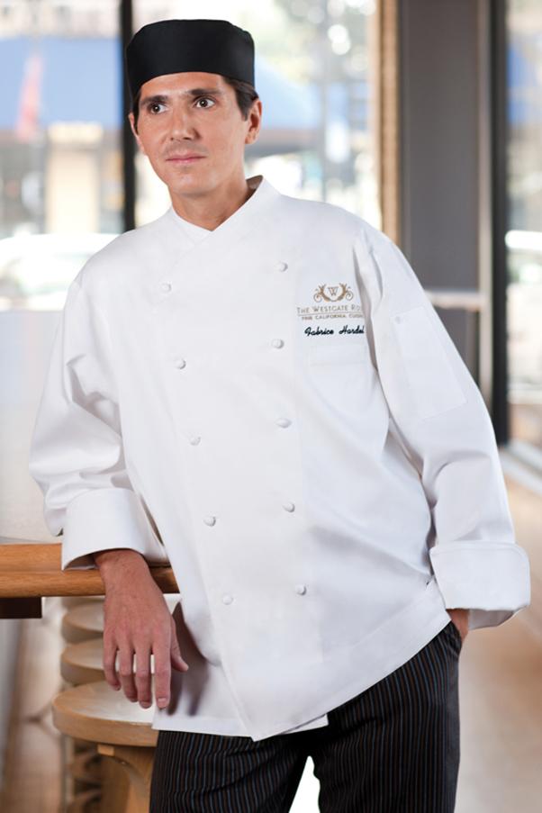 Milan Premium Cotton Chef Coat Chef Works