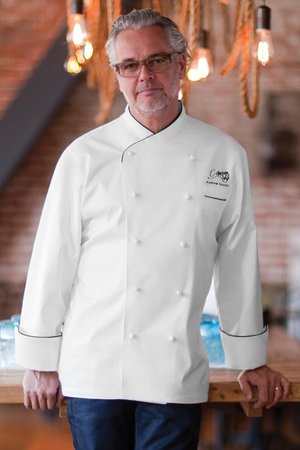 Monte Carlo Premium Cotton Chef Coat