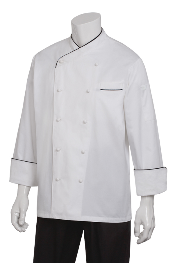 Monte Carlo Premium Cotton Chef Coat Chef Works
