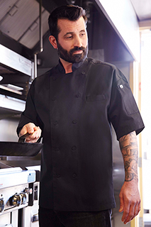 Palermo Executive Chef Coat - side view