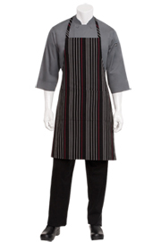 Striped Bib Aprons - Chef Works Chef Aprons Collection