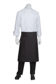Tapered Black Chef Aprons - Chef Works Chef Aprons Collection