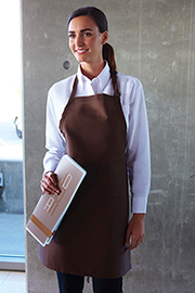 Two Patch Pocket Aprons - Chef Works Chef Aprons Collection