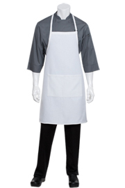 Waffle Weave Bib Chef Aprons - Chef Works Chef Aprons Collection