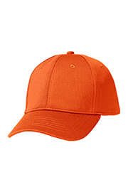 Cool Vent Color Baseball Cap: Orange