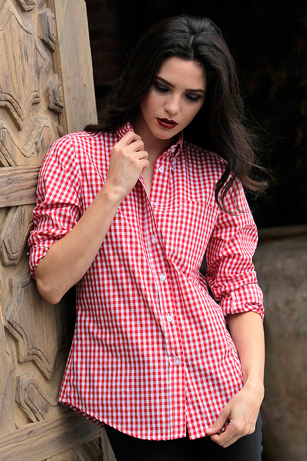 Beautiful Red Dress Shirts For Women Workwear Uniforms Red Kap Done Right
