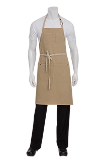 Austin Bib Apron - side view