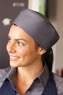 Color Cool Vent™ Beanie: Gray - side view