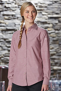 Womens Chambray Shirt - side view
