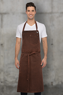 Dorset Chefs Bib Apron - side view