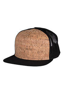 Cork Front Skater Hat - side view