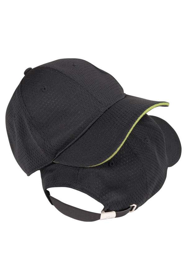Cool Vent™ Baseball Cap with Color Trim - back view ... bf310229d7b