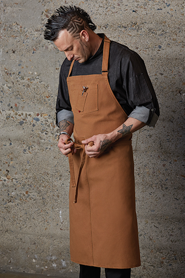 Rockford Chefs Bib Apron Chef Works