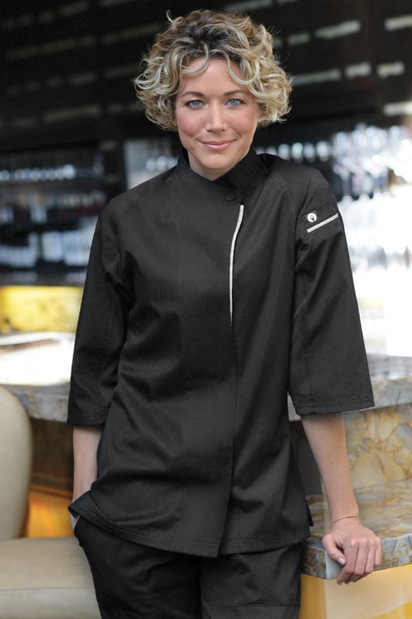 Verona v series womens chef coat chef works for Uniform verona