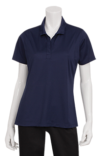 Womens Sportek® Polo Shirt - side view