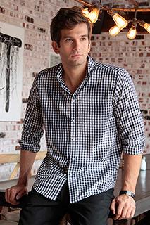 Mens Check Shirt