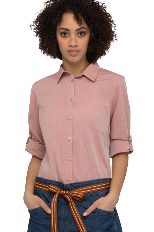 Popular Women39s Fashion 100 Cotton Chambray Long Denim Shirt Dress Top Blouse